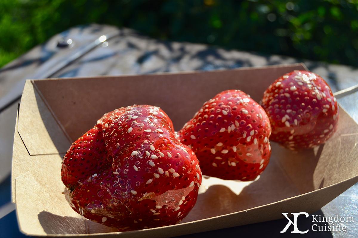 beijing candied strawberries � kingdom cuisine